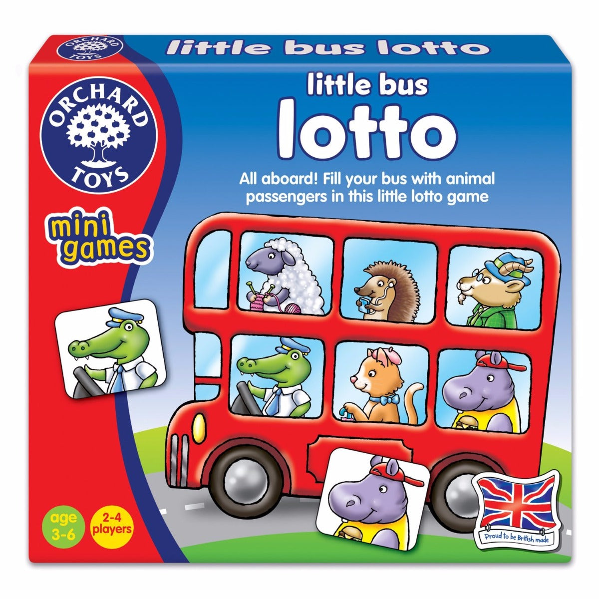 Orchard Toys - Mini Game Little Bus Lotto