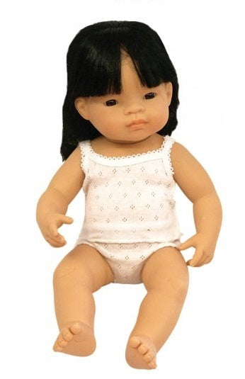 Miniland - Asian Girl Doll 38cm