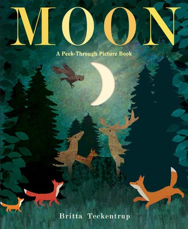 Moon by Britta Teckentrup at Little Sprout