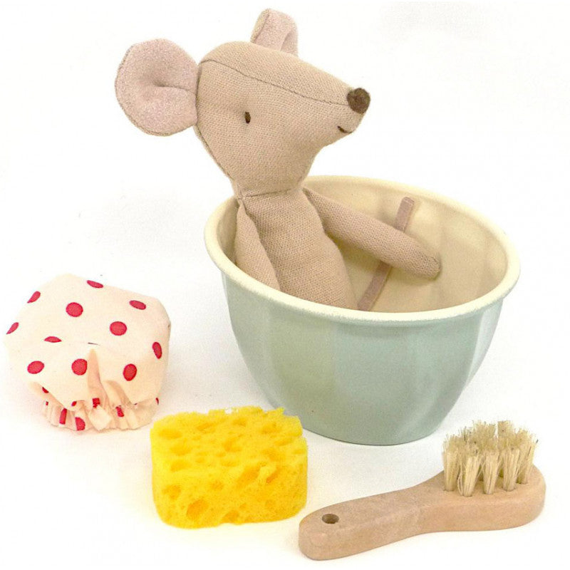 Maileg Spa and Wellness Mouse at Little Sprout