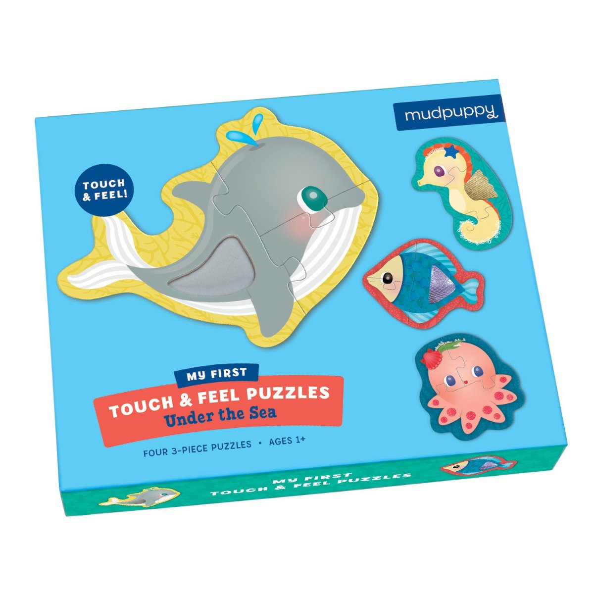 Mudpuppy - Under The Sea Touch And Feel Puzzle
