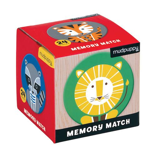 Mudpuppy Mini Match Memory Game available at Little Sprout