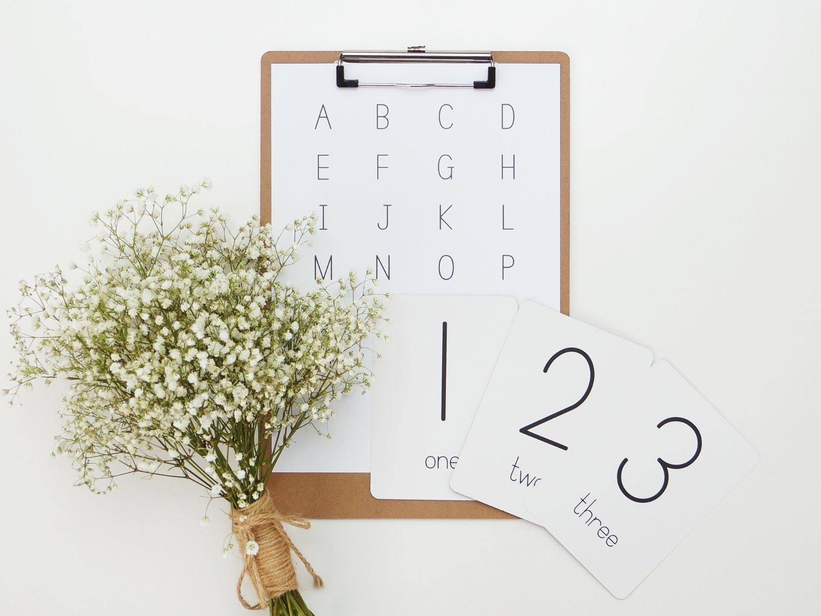 Alpha Baby Designs Numbers and Operations Flashcards