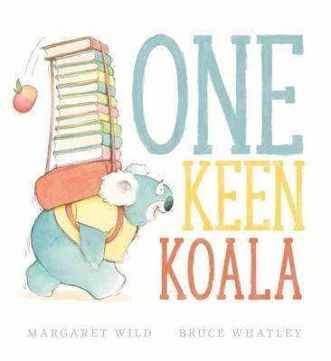 One Keen Koala hardback book. Available online now at Little Sprout