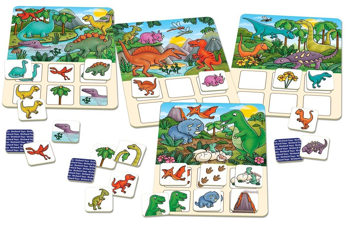 Dinosaur Lotto educational game in box at Little Sprout