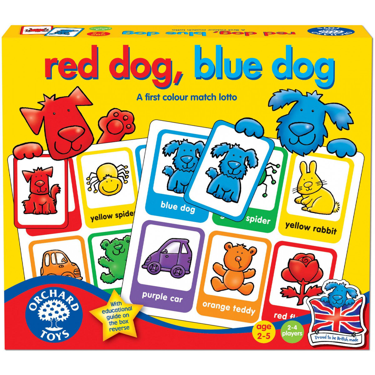 Orchard Toys - Red Dog Blue Dog Lotto Game