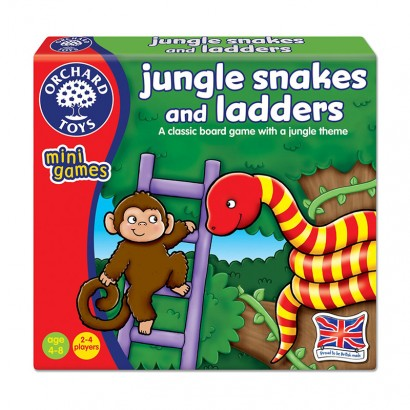 Orchard Toys - Mini Game Snakes And Ladders