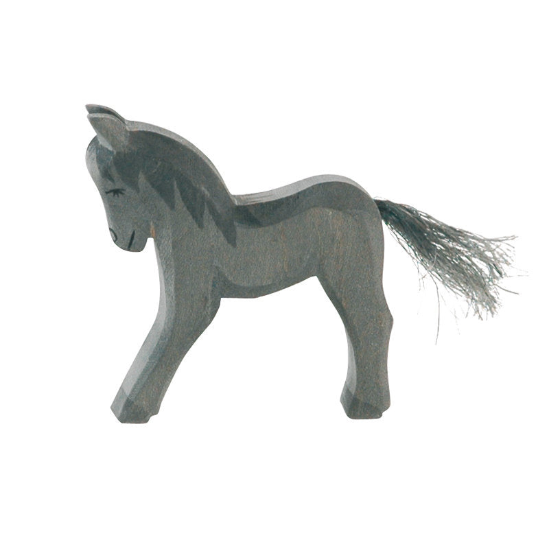 Ostheimer Black Colt wooden horse toy at Little Sprout