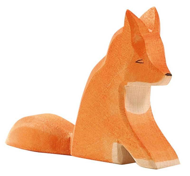 Ostheimer Fox Sitting at Little Sprout