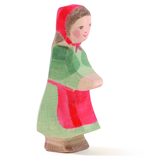 Ostheimer Red Riding Hood wooden toy at Little Sprout