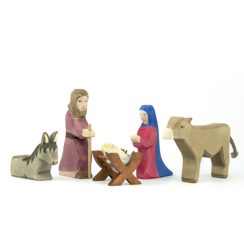 Ostheimer Holy Family 2007 Wooden Nativity Set at Little Sprout