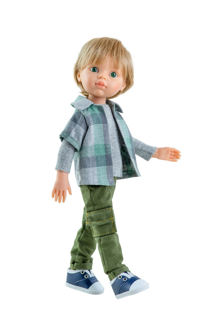 Paola Reina Luis Boy Doll at Little Sprout