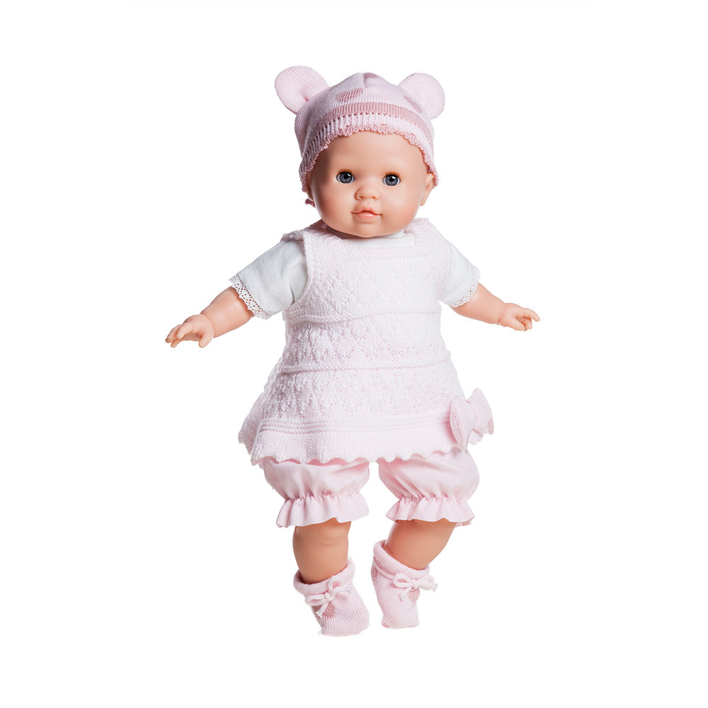 Paola Reina Soft-Bodied Baby Lola Doll 38cm at Little Sprout