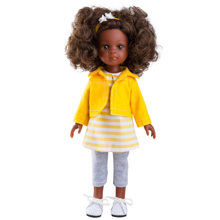 Paola Reina Yellow Outfit Nora Doll 32cm