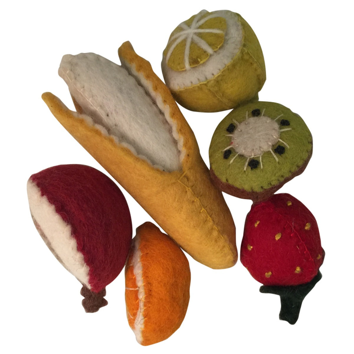 Papoose Felt Fruit Pack in box