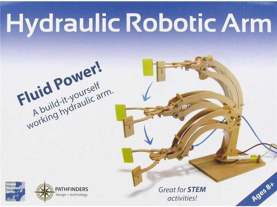 Pathfinders Hydraulic Robotic Arm box