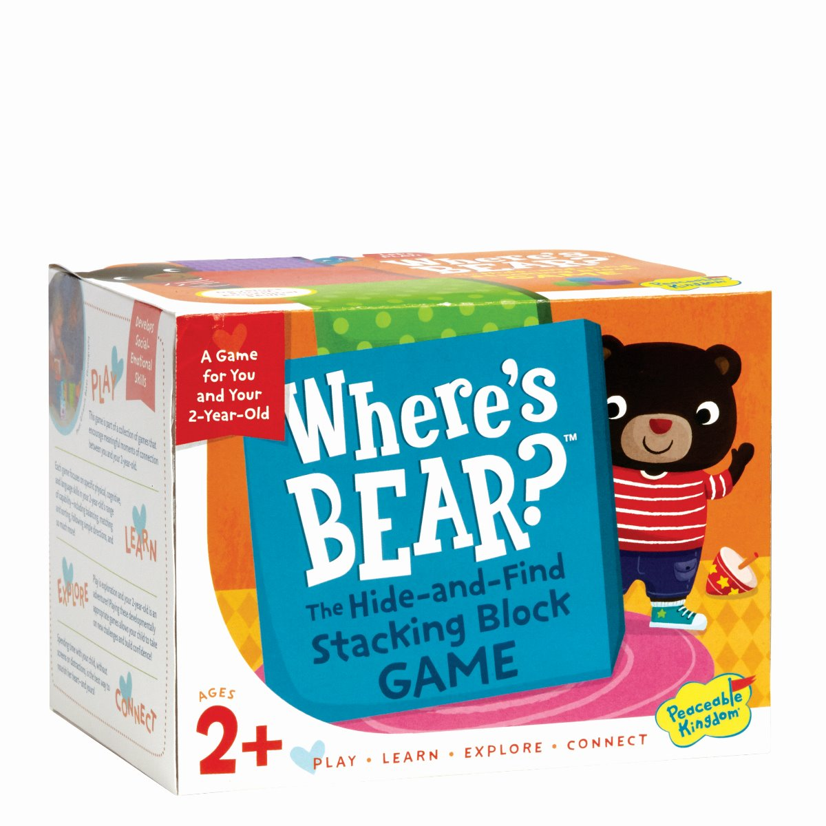 Peaceable Kingdom - Where's Bear - Toddler game
