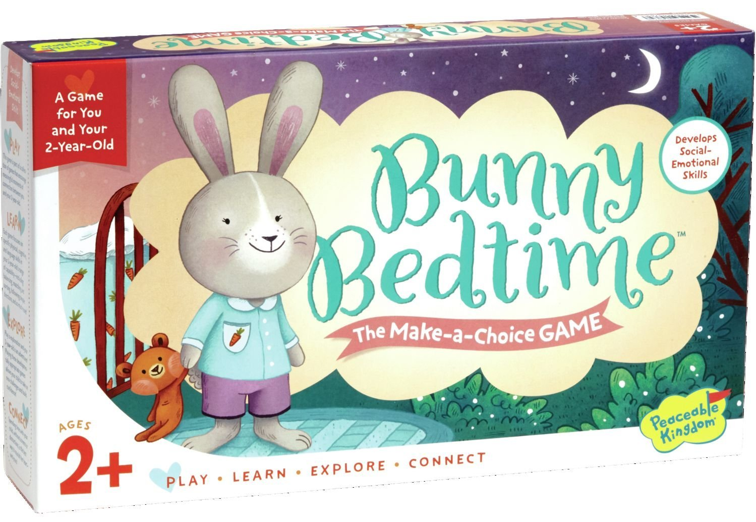 Peaceable Kingdom Bunny Bedtime Game