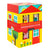Petit Collage Peek-a-Boo House Stacking Blocks Play Set at Little Sprout