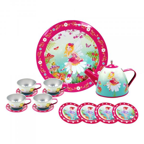 Pink Poppy Forest Fairy Tea Set at Little Sprout