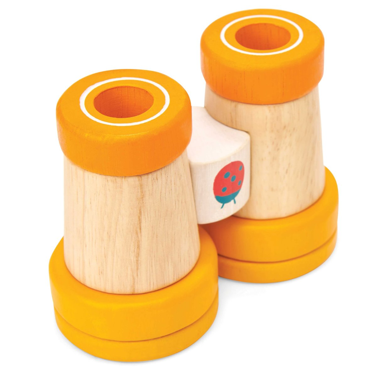 Le Toy Van Petilou Wooden Binoculars with Kaleidoscope lenses