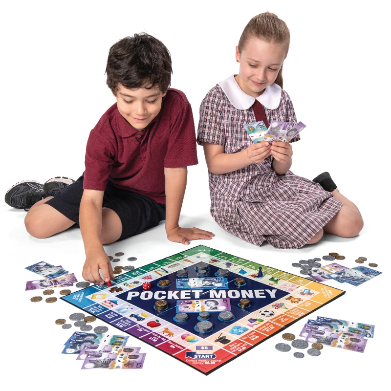 Pocket Money Game and contents