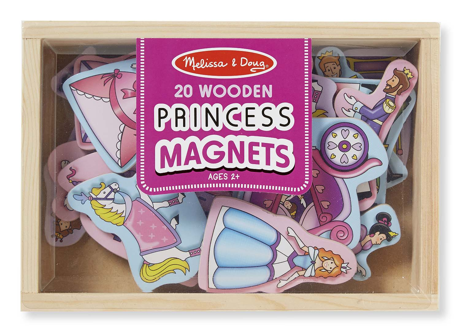 Melissa And Doug - Magnetic Wood Princess
