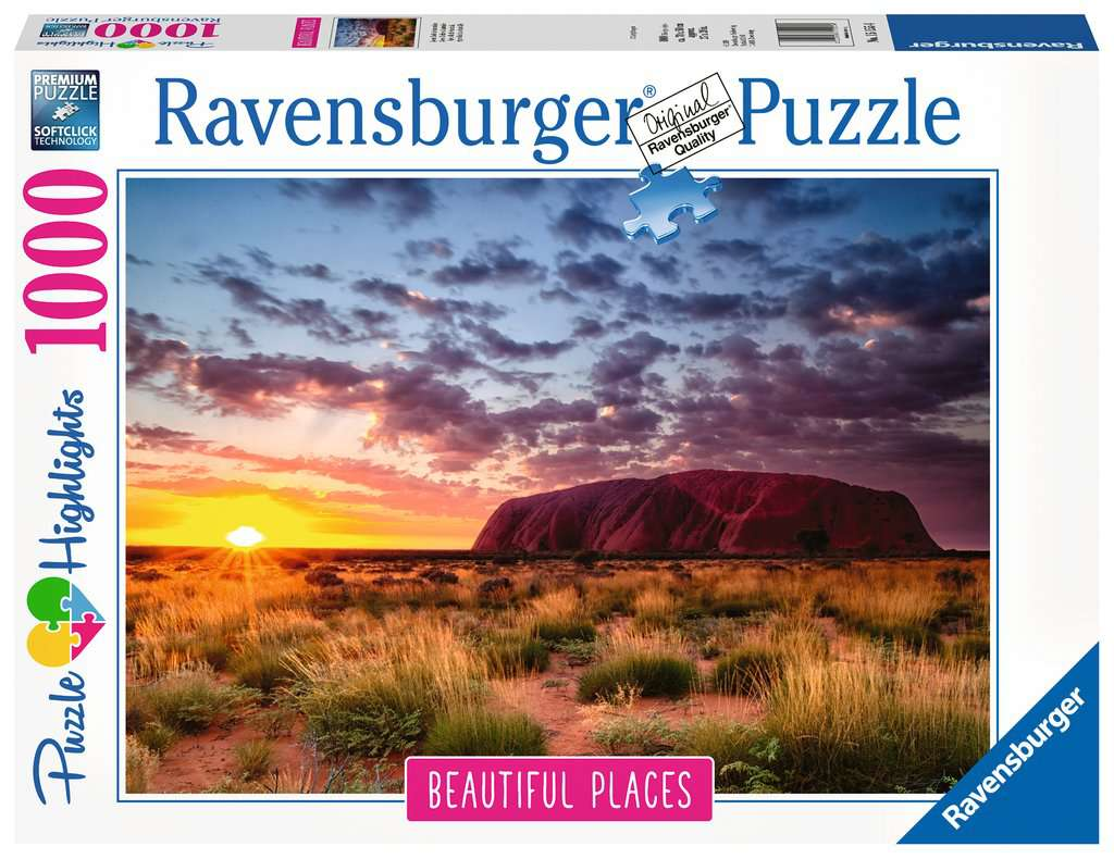 Ravensburger Puzzle 1000 Pieces Ayers Rock