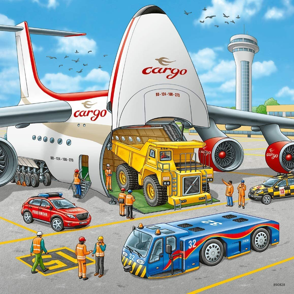 Ravensburger Above the Clouds Aviation Puzzles