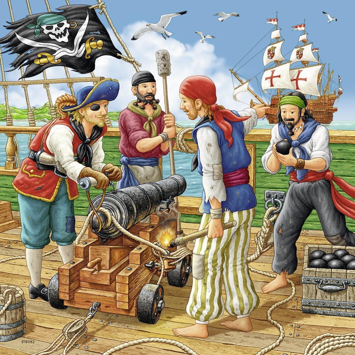 Ravensburger Adventure on the High Seas Puzzle Box
