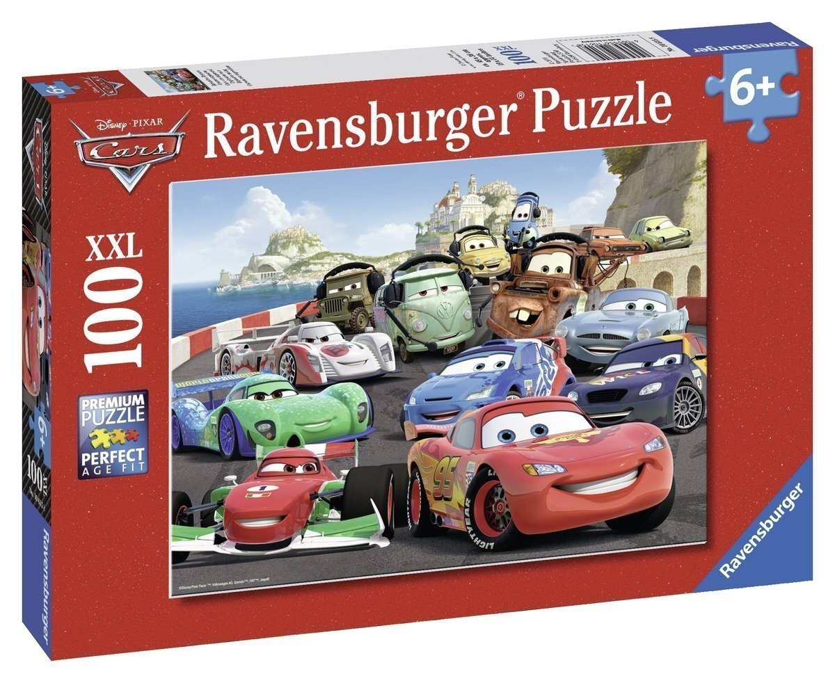 Ravensburger Cars Explosive Race Puzzle 100 Pieces