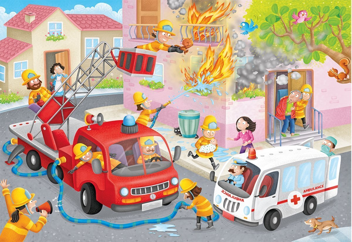 Ravensburger Firefighter Rescue Puzzle 60 piece