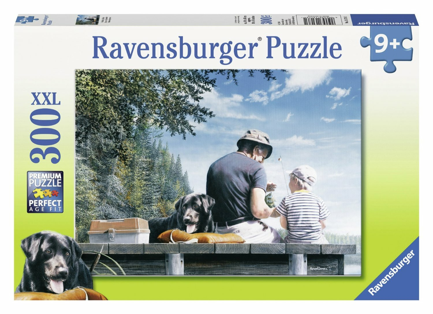 Ravensburger Puzzle Fishing Days 300 Piece Puzzle