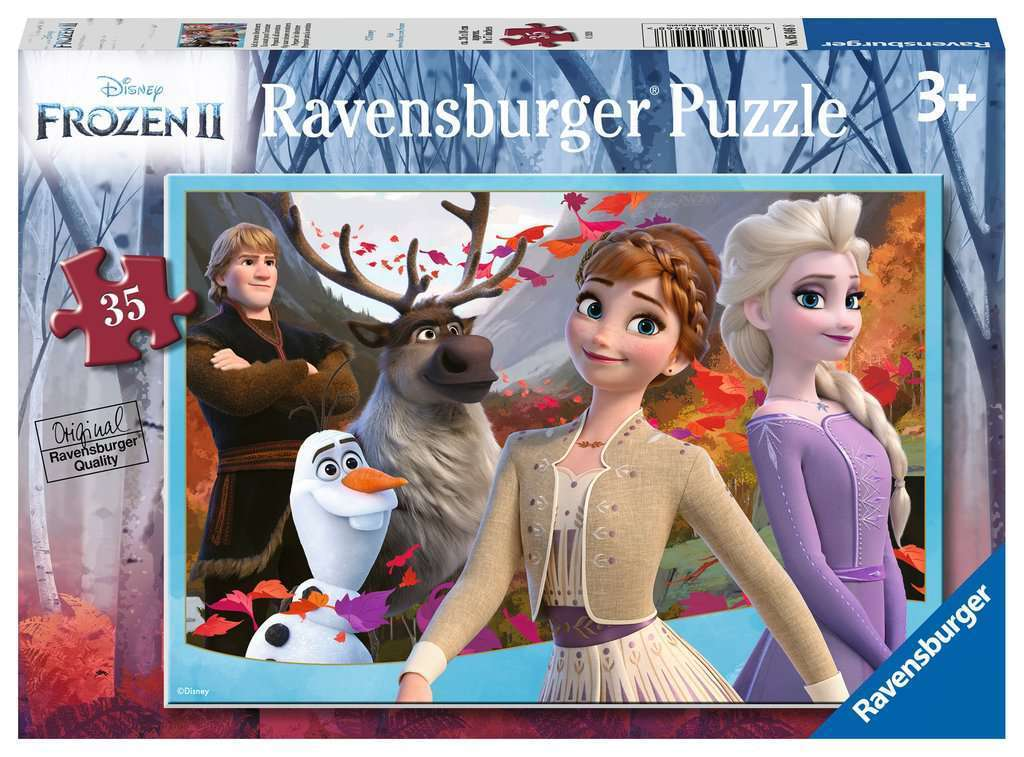 Ravensburger Frozen 2 Prepare for Adventure Puzzle 35 pieces