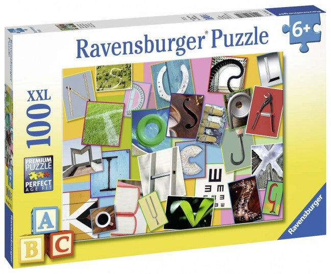 Ravensburger Funny Alphabet Puzzle 100 Pieces