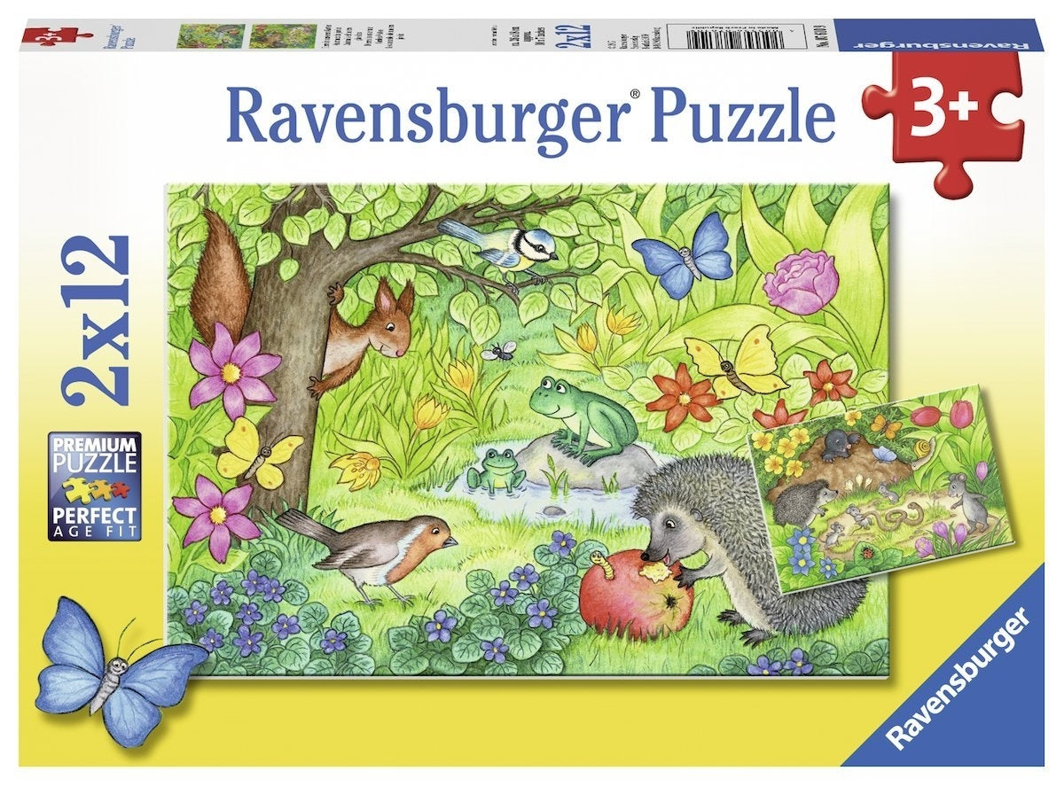 Ravensburger Garden Visitors 12 piece puzzles