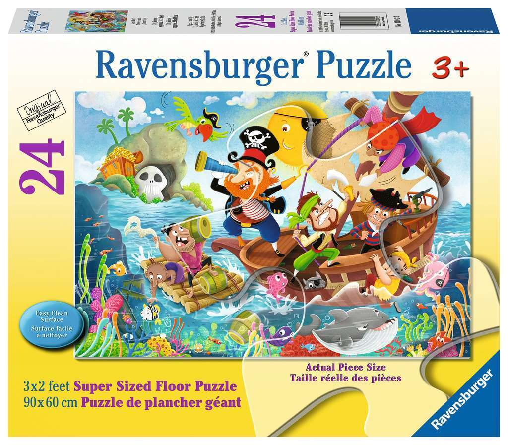 Ravensburger Land Ahoy Super Size Floor Puzzle 24 Pieces
