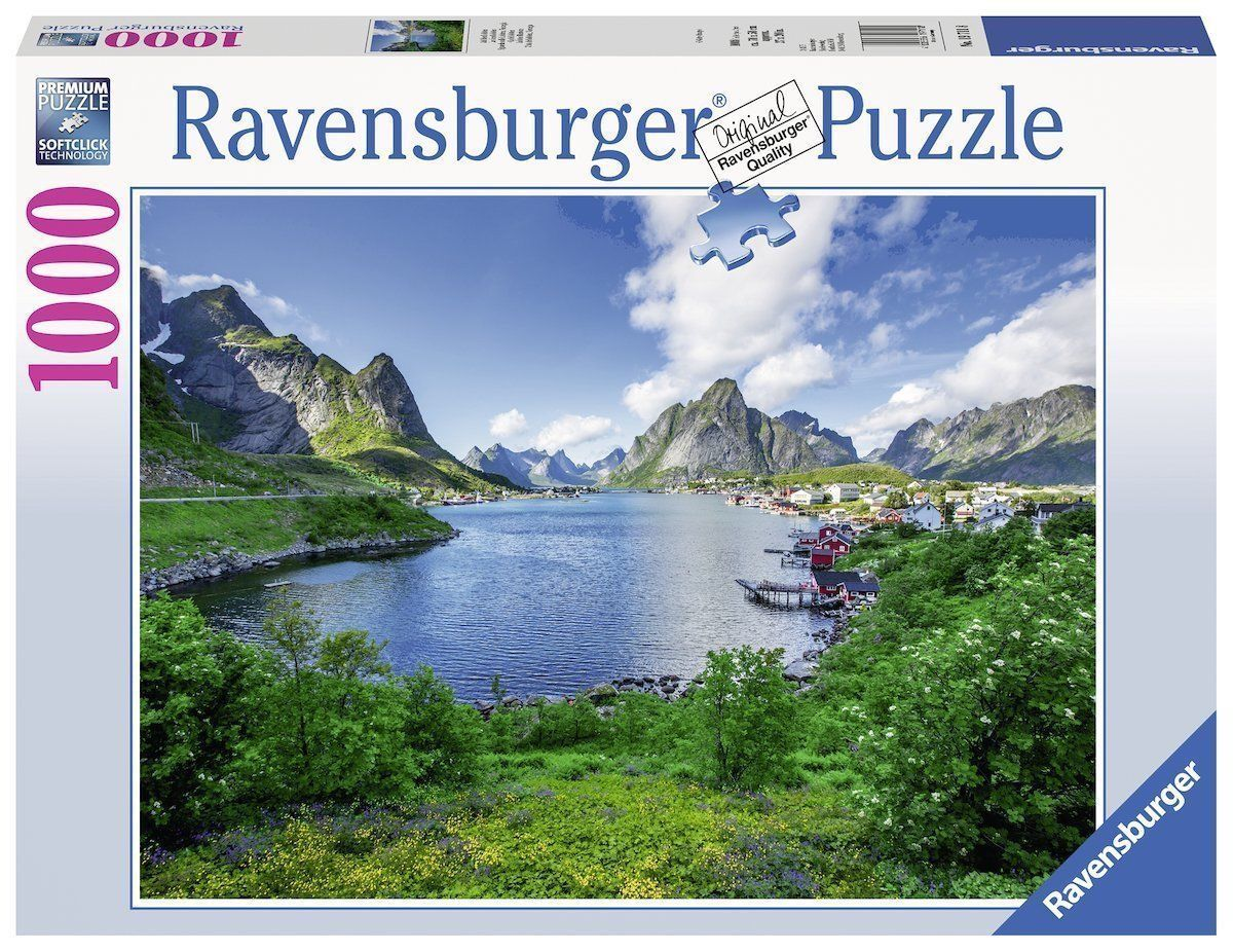 Ravensburger Puzzle Lofoten Harbour 1000 Pieces