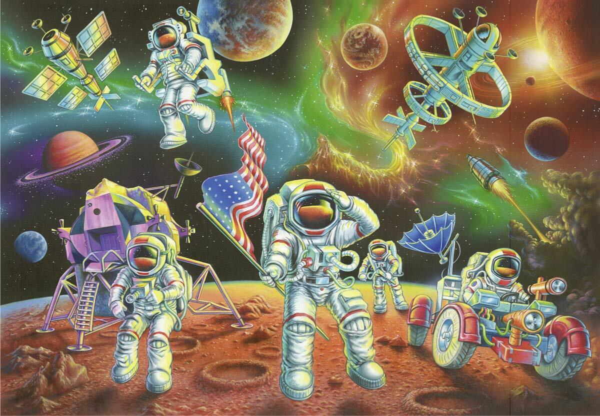Ravensburger Puzzle Moon Landing 35 Pieces