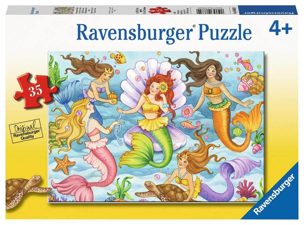 Ravensburger Queens of the Ocean Mermaid Puzzle 35 Pieces