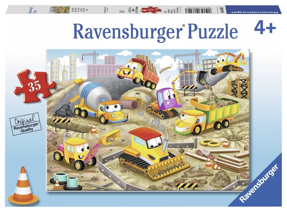 Ravensburger Raise the Roof Puzzle 35 Pieces in box