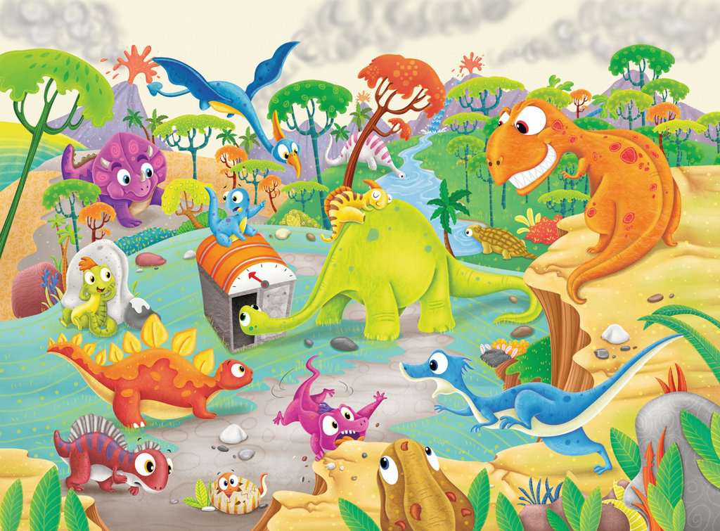 Ravensburger Time Travelling Dino at Little Sprout