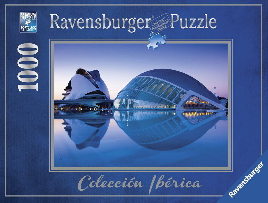 Ravensburger Valencia the Arts City Puzzle 1000 Pieces