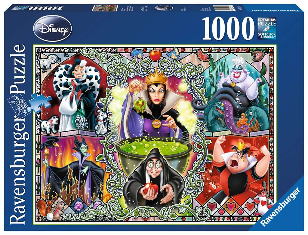 Ravensburger Wicked Women Puzzle 1000 Pieces