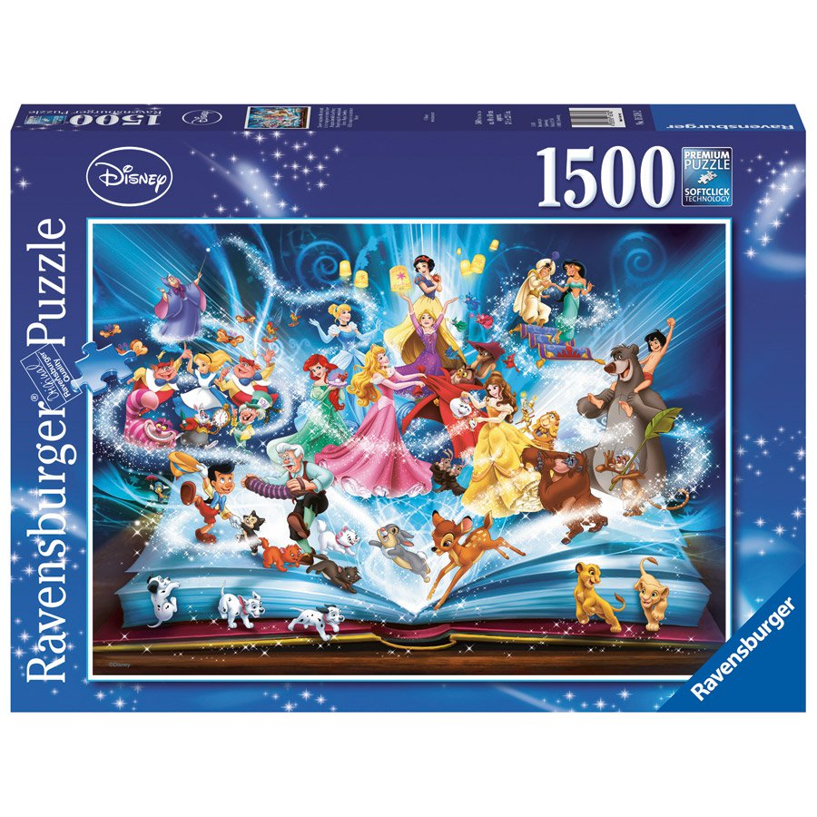 Ravensburger Disney Magical Storybook 1500 piece puzzle