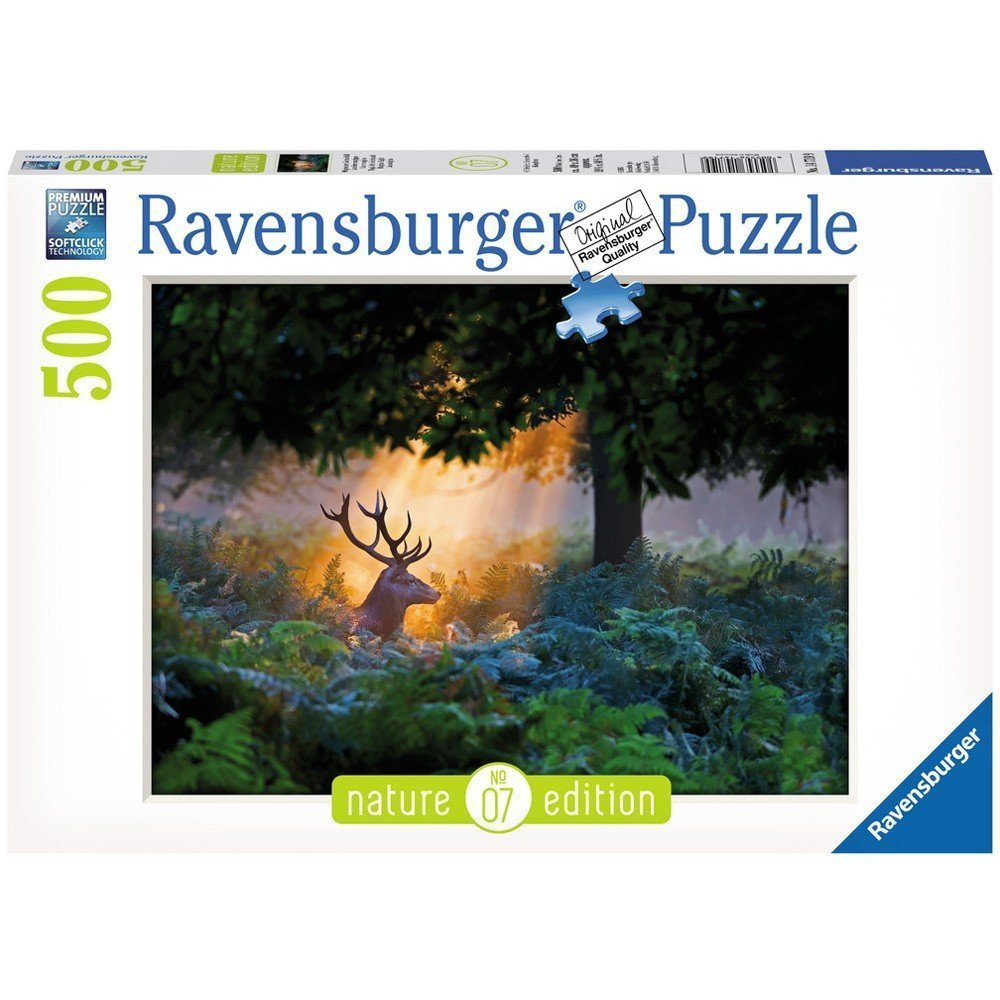 Ravensburger Puzzles 500 pieces Nature Edition Magical Light