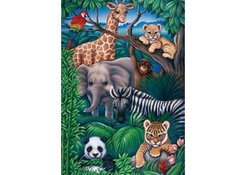 Ravensburger - Animal Kingdom Puzzle 35 Pc