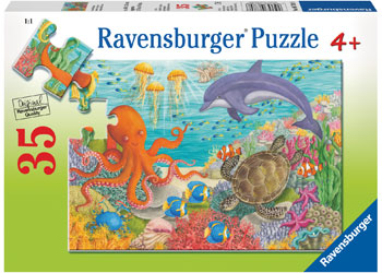 Ravensburger - Ocean Friends Puzzle 35 Pc