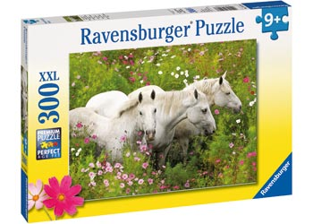 Ravensburger - Horses In A Field Puzzle 300 Pc