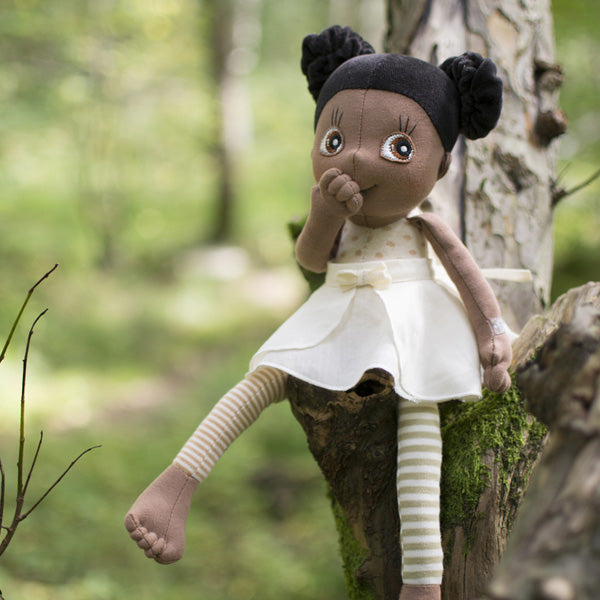 Rubens Barn Ecobud Poppy Organic Doll at Little Sprout